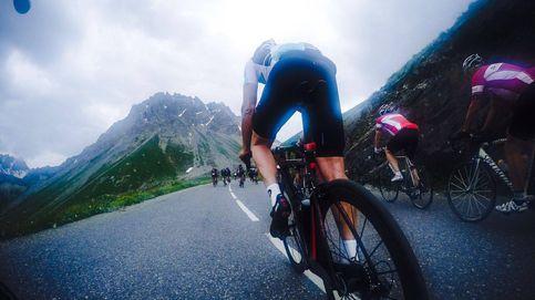 El arco de llegada, el bullicio, duele todo: así es una etapa por los Alpes