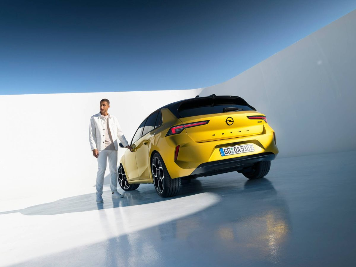 Foto: La nueva generación del Opel Astra llegará a los concesionarios a comienzos de 2022.