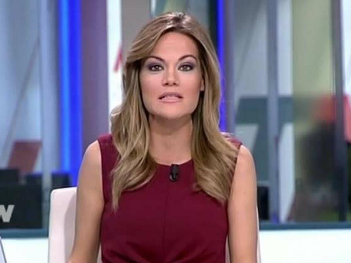 Foto: Rocío Delgado, en 'Telenoticias'. (Telemadrid)