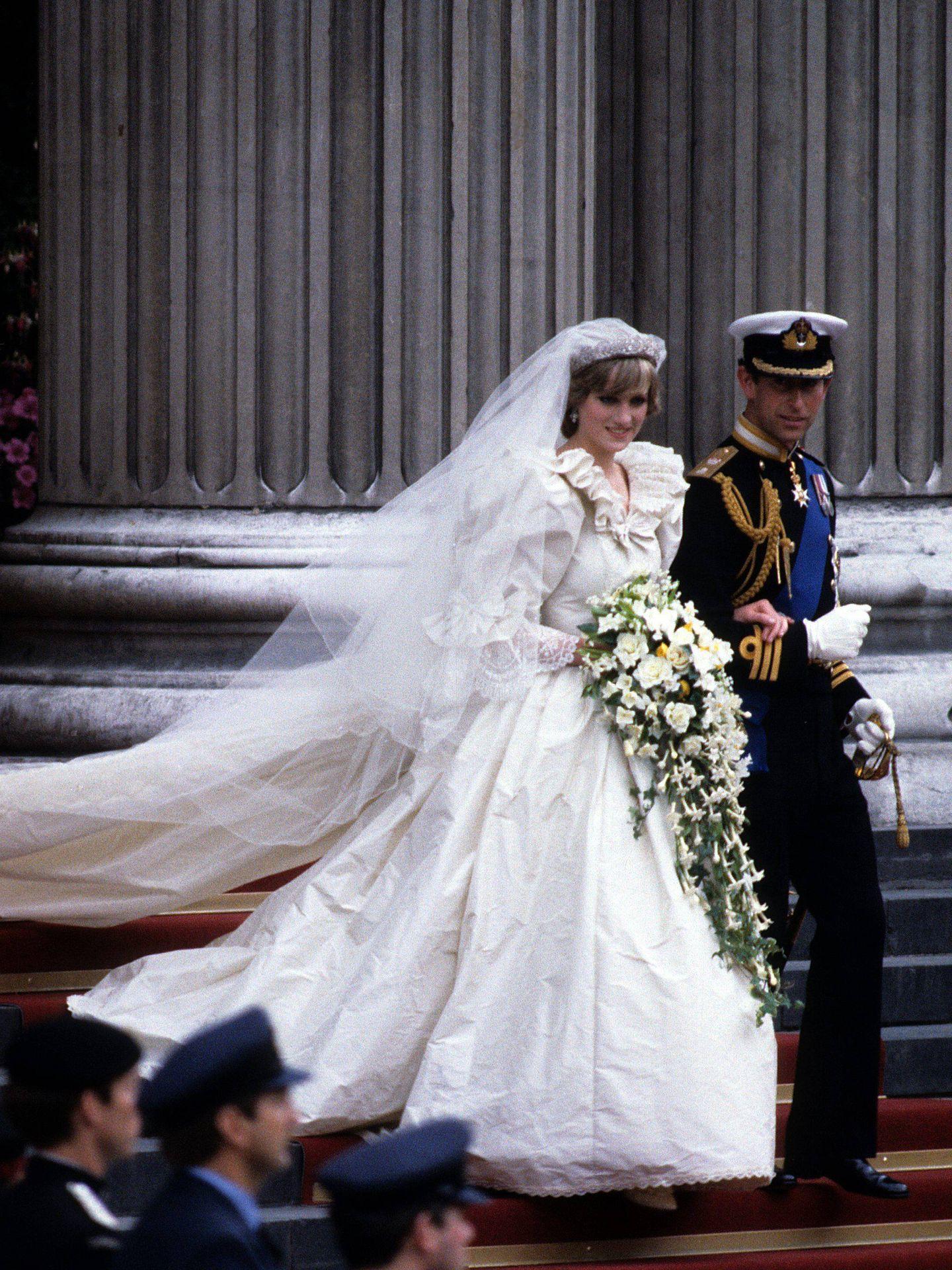 Carlos y Diana, recién casados. (Cordon Press)