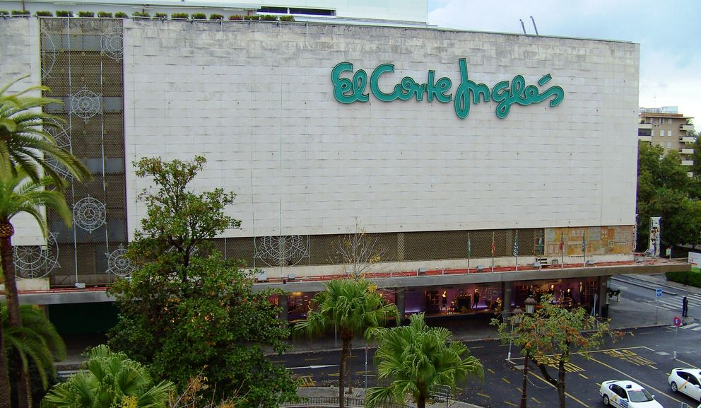 Foto: Imagen del Corte Inglés de Sevilla (Efe)