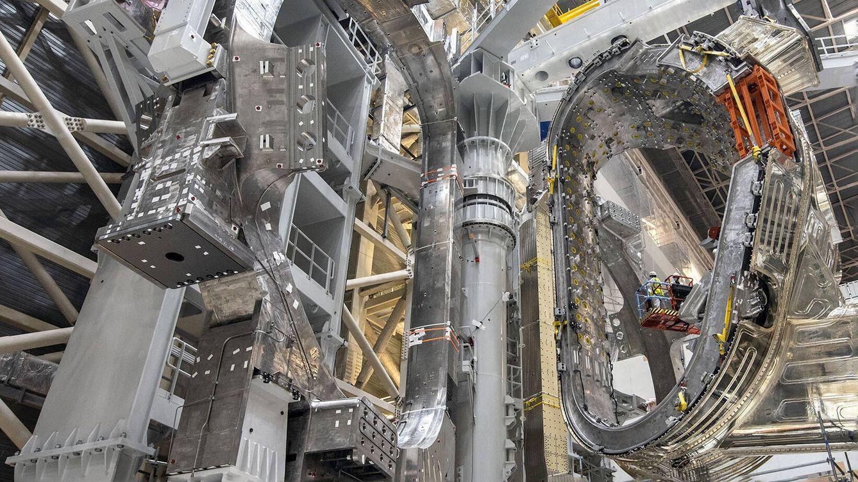 Así es el impresionante interior del reactor de fusión nuclear ITER
