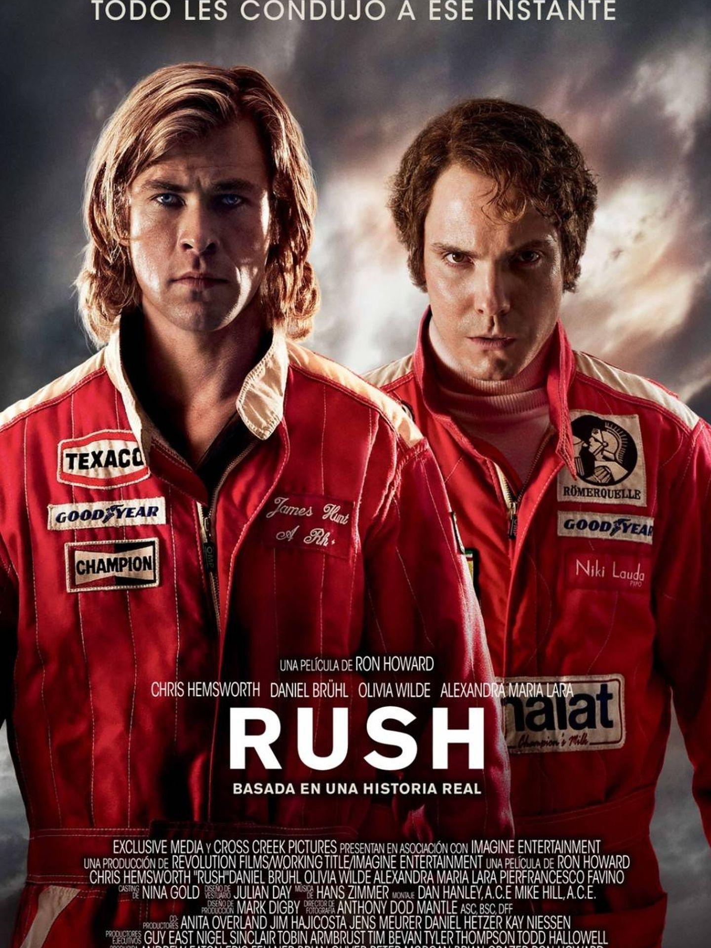 Cartel de 'Rush'.