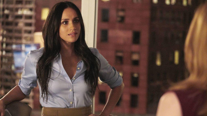 Markle durante su etapa como actriz en 'Suits'. (NBC Television )