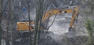 Post de Dos excavadoras buscan a los dos sepultados en el derrumbe del vertedero en Zaldibar