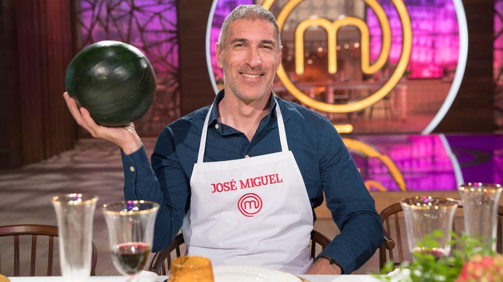 Foto: José Miguel Antúnez, expulsado de 'MasterChef Celebrity'. (TVE)