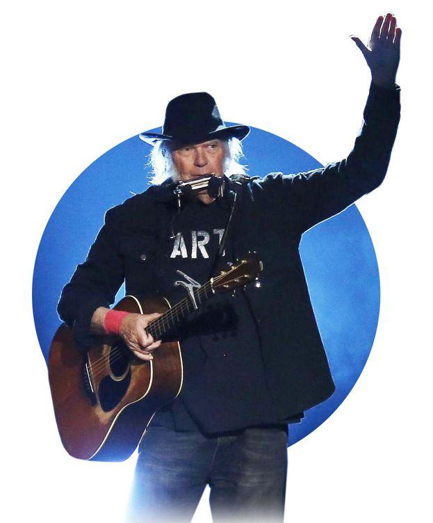 Foto: Neil Young durante un concierto. (Cordon Press)