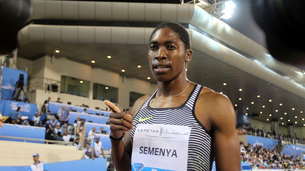 Foto: Semenya ganó en Doha la primera prueba del año en la Diamond League (Ibraheem Al Omari/Reuters)