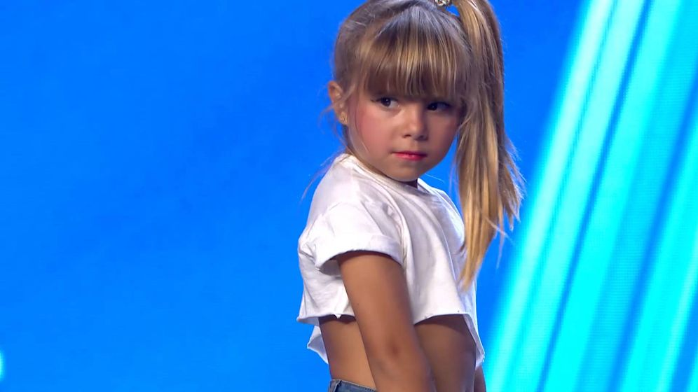 Foto: Adriana, en 'Got Talent España'. (Telecinco)