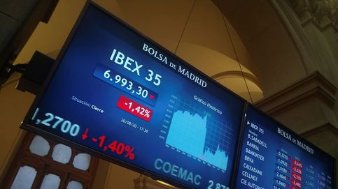 Turismo y bancos sufren por la crisis sanitaria arrastran al Ibex a mínimos de mayo