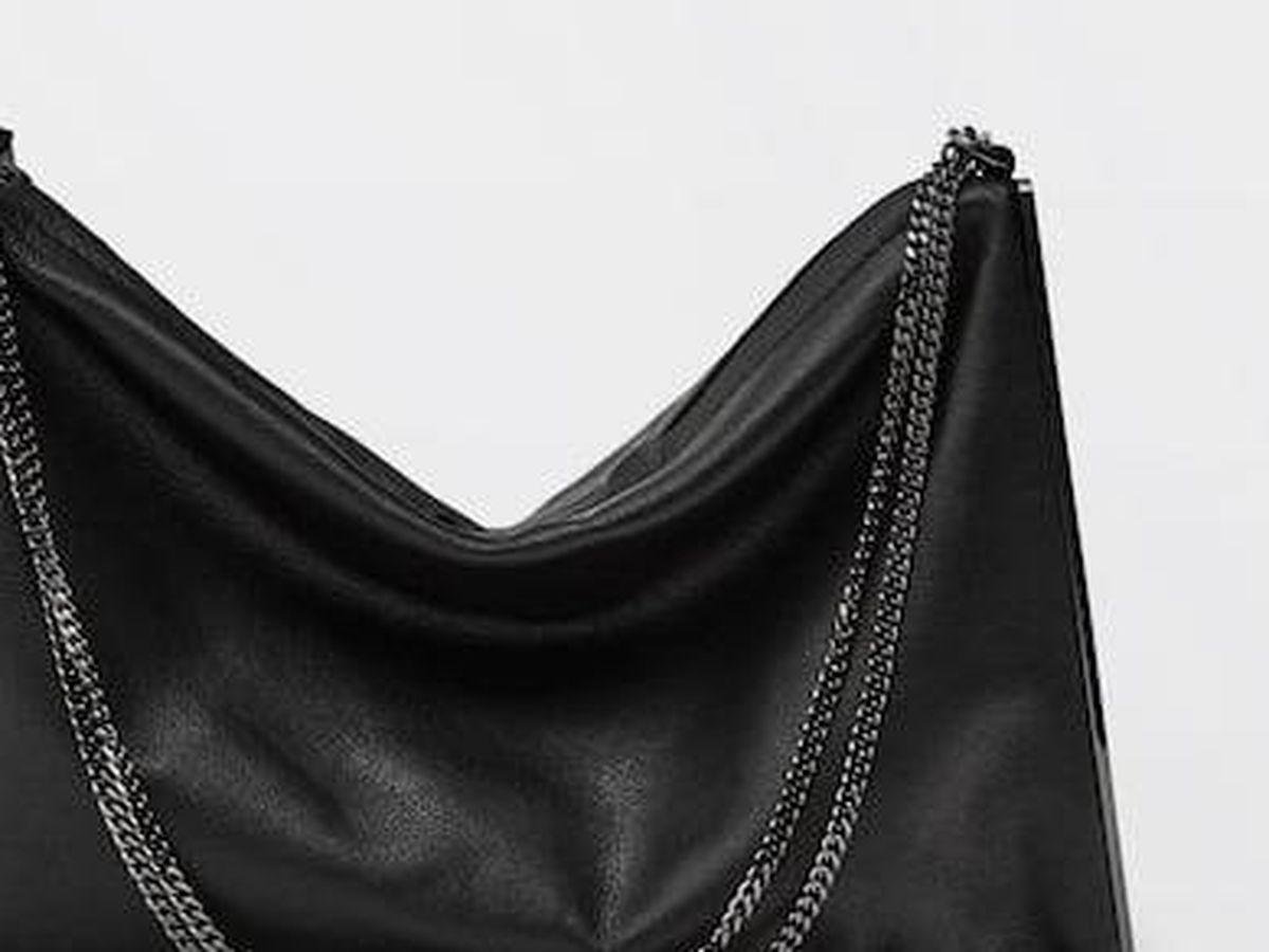 Foto: Bolso de piel de Massimo Dutti. (Cortesía)