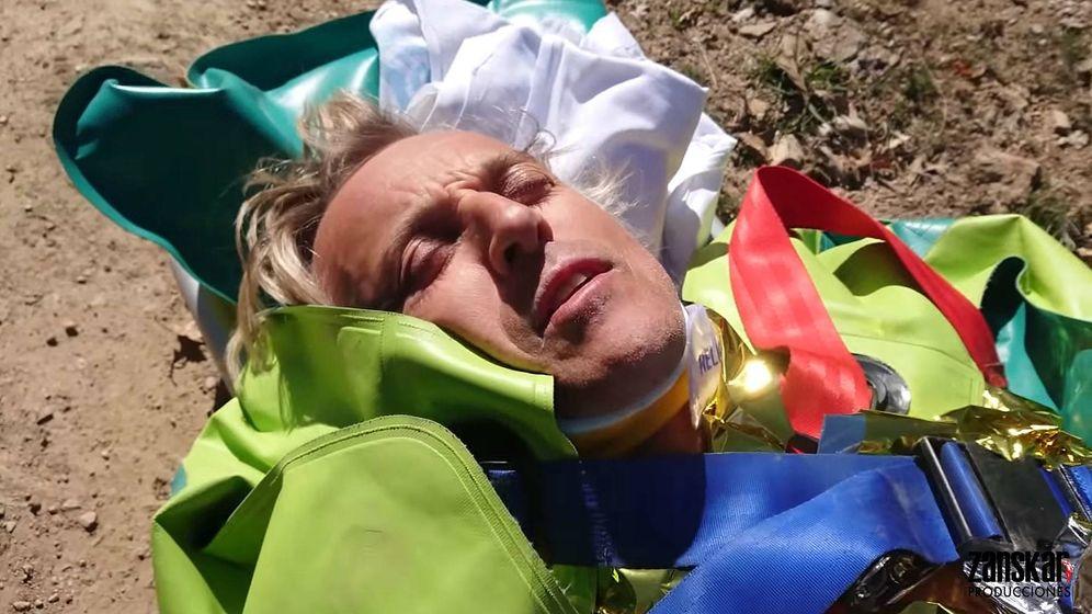 Foto: Calleja siendo evacuado. (Youtube)