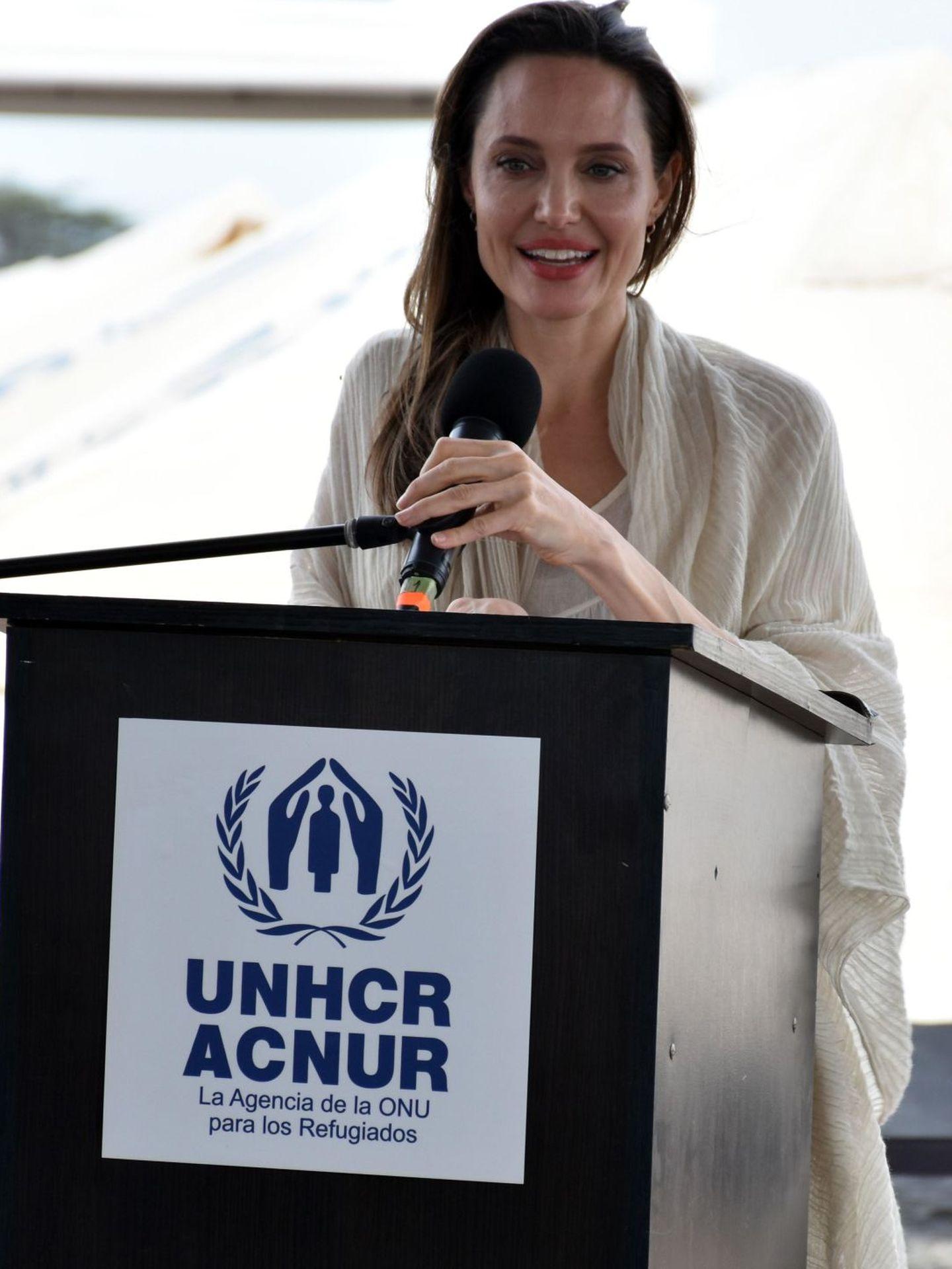 Para Angelina Jolie, su labor social es muy importante. (EFE)