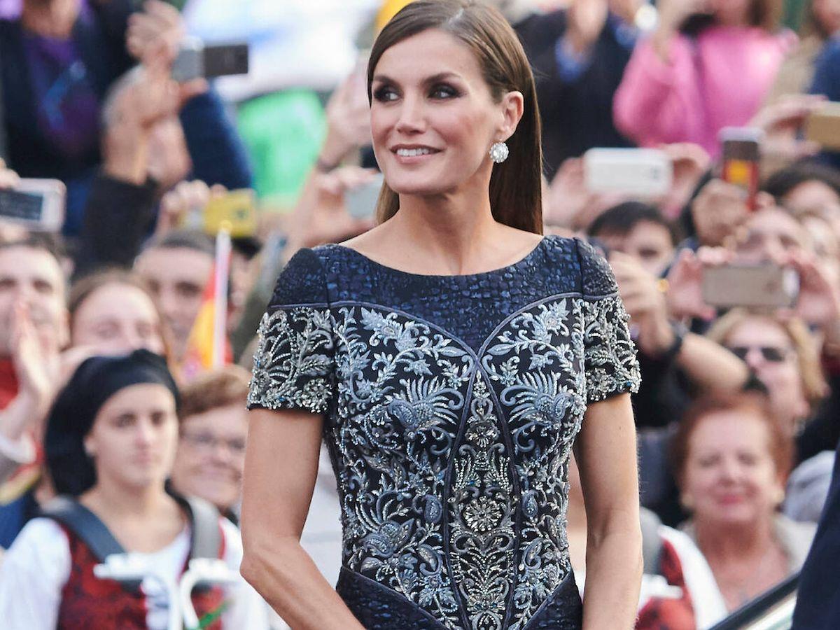 Foto: La Reina, en los Premios Princesa de Asturias 2018. (LP)