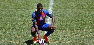 Post de El Barça presenta a Umtiti: