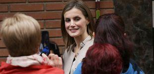 Post de La Reina Letizia y su look de estreno más otoñal firmado por Hugo Boss