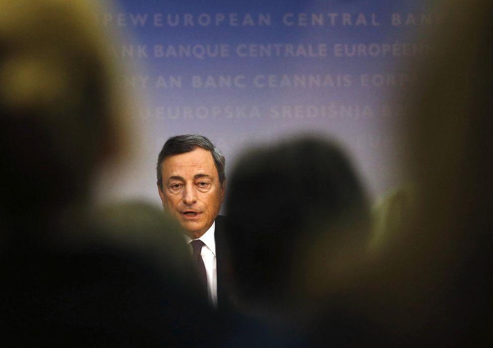 Foto: Mario Draghi, presidente del BCE