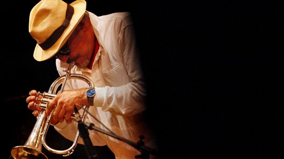 Foto: El músico Jerry González en una actuación en Cali en 2014. (Efe)