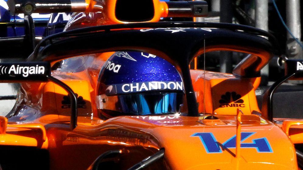 Foto: Fernando Alonso, en Australia, sobre su McLaren-Renault. (Reuters)