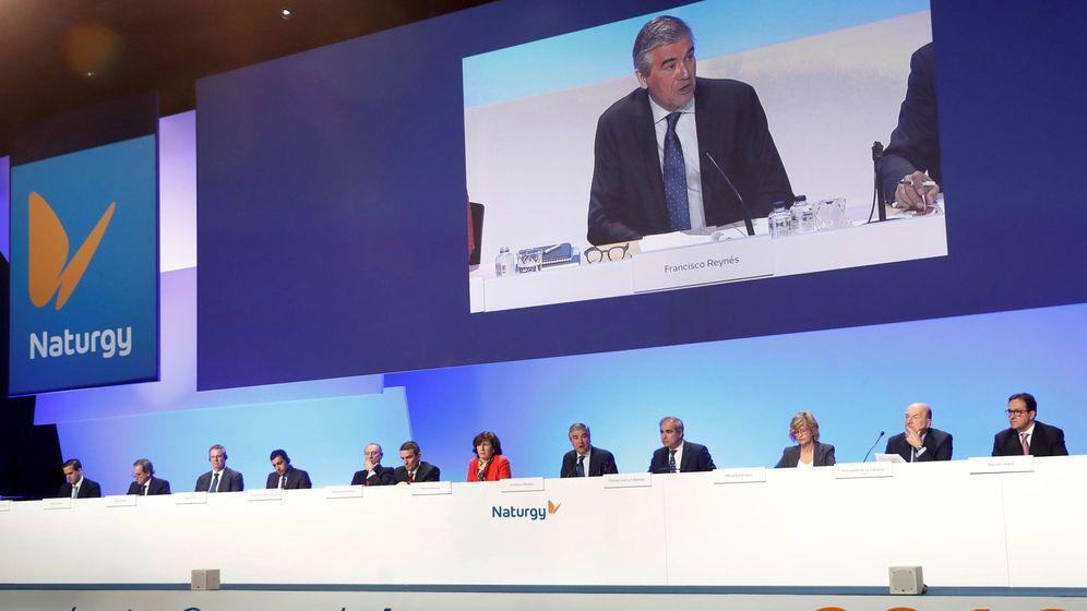 Foto: La última junta general de accionistas de Naturgy.