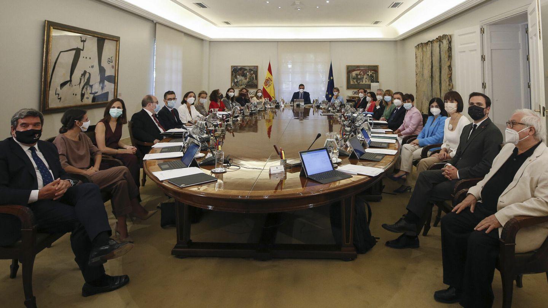 Nueva composición del Consejo de Ministros. (EFE)
