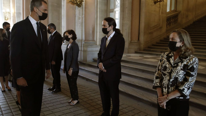 Iglesias mide la ambigua relación con Felipe VI: del halago a promover un referéndum