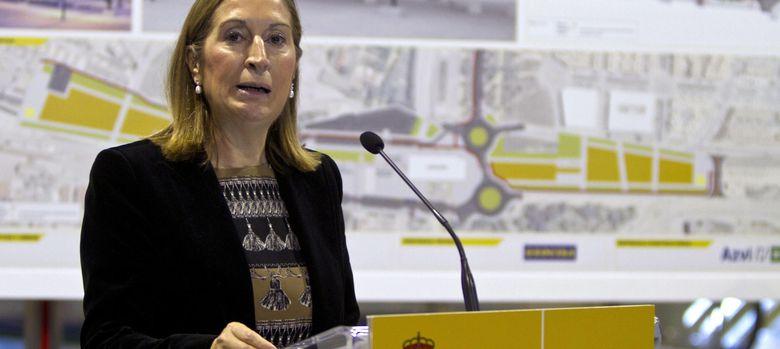 Foto: La ministra de Fomento, Ana Pastor. (EFE)