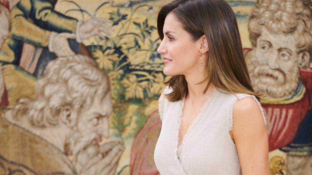 Foto: La Reina durante las audiencias. (Limited Pictures)