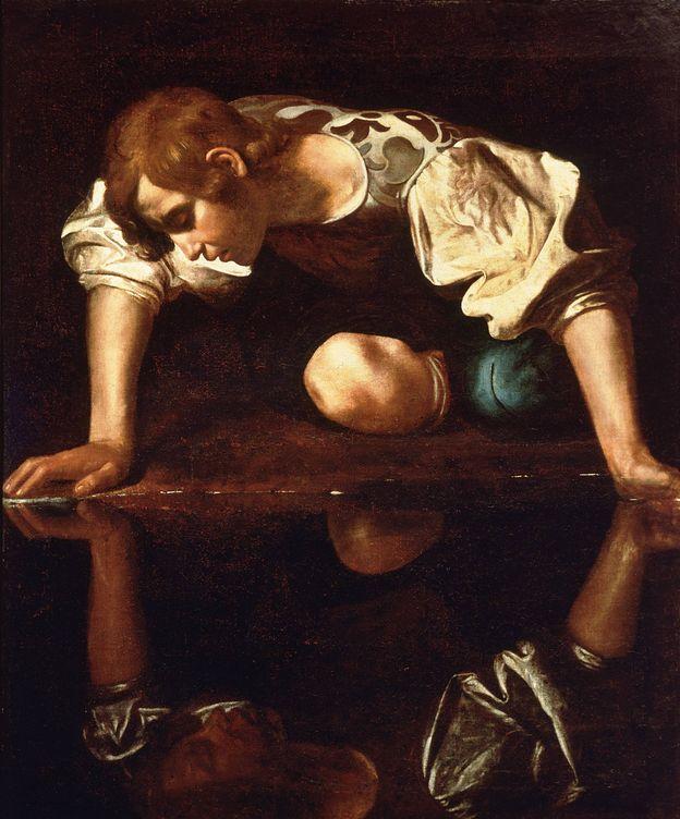 Foto: 'Narciso'. (Caravaggio)