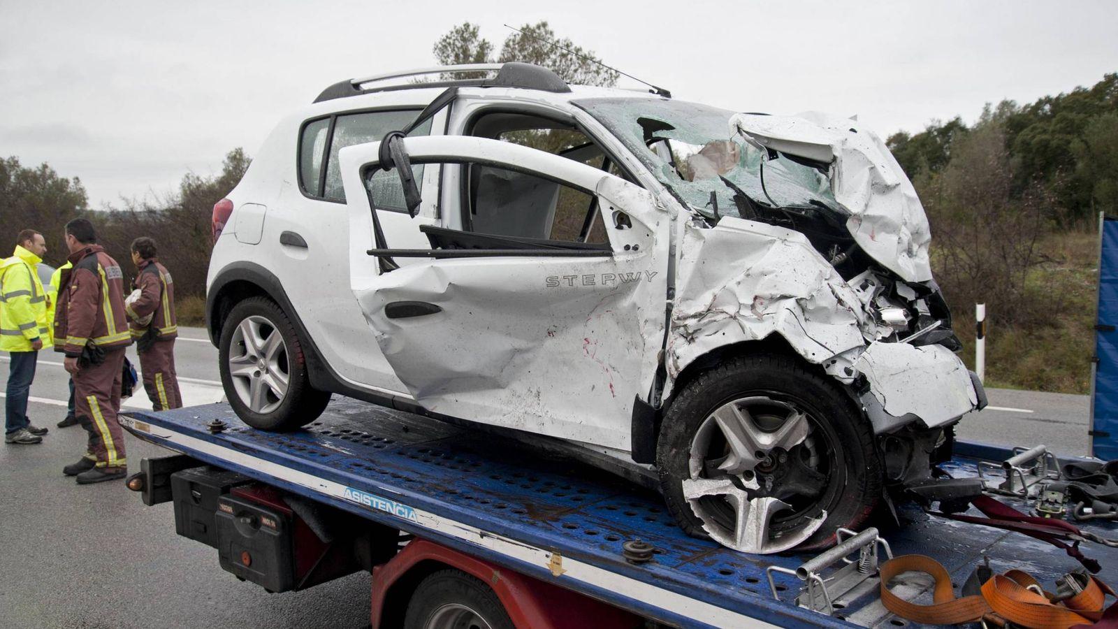 Foto: Cada día más accidentes en las carreteras españolas.EFE/Robin Townsend