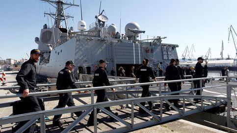 Brote de coronavirus en una fragata con base en Ferrol: 16 casos asintomáticos