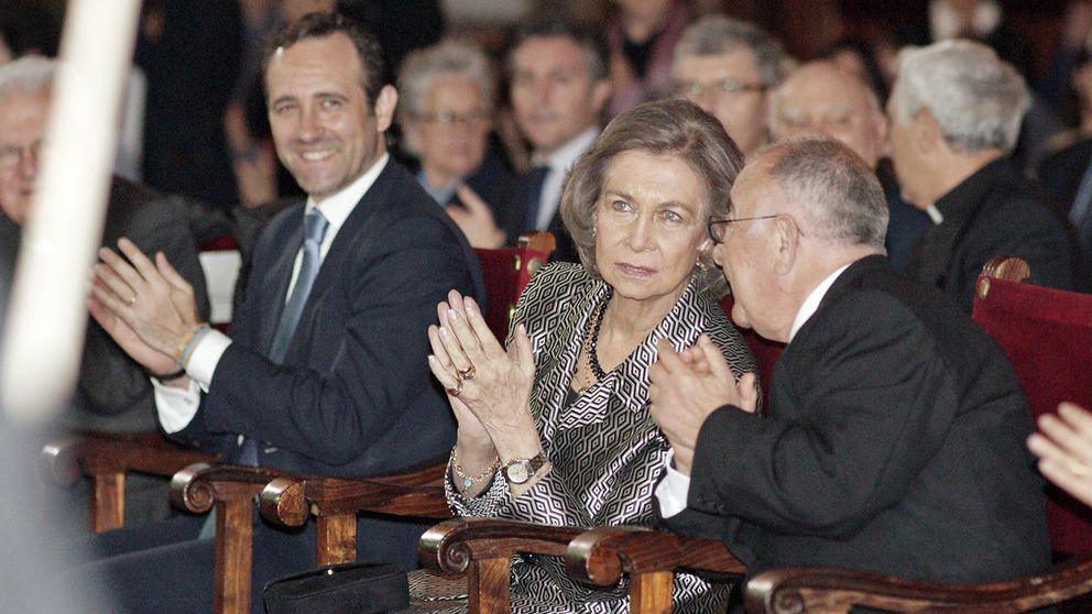 La Reina Sofía pasa de nuevo sola la Semana Santa en Mallorca