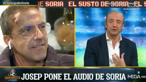 Soria llora al relatar a Pedrerol su accidente: Un coche me perdonó la vida