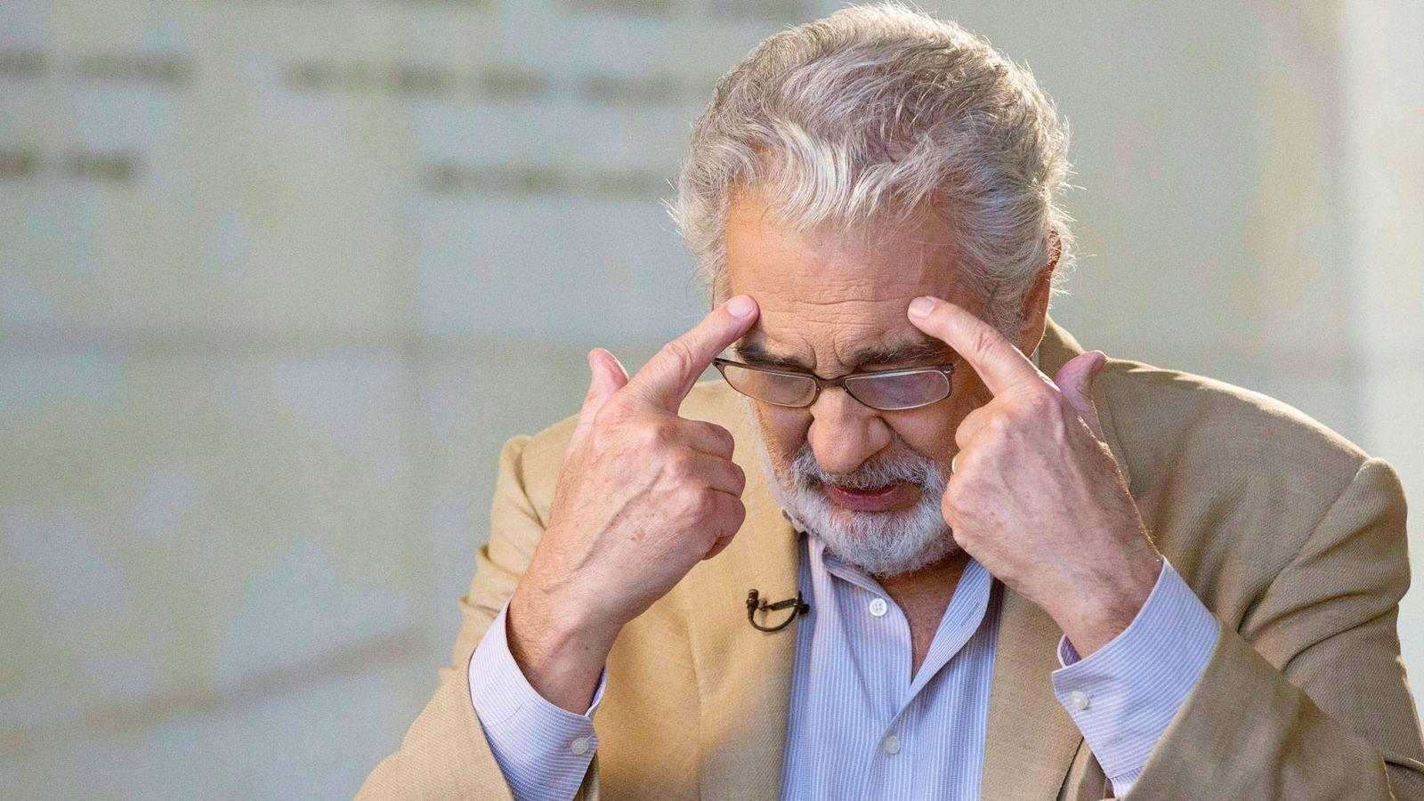 Foto: El tenor Plácido Domingo. (Reuters)