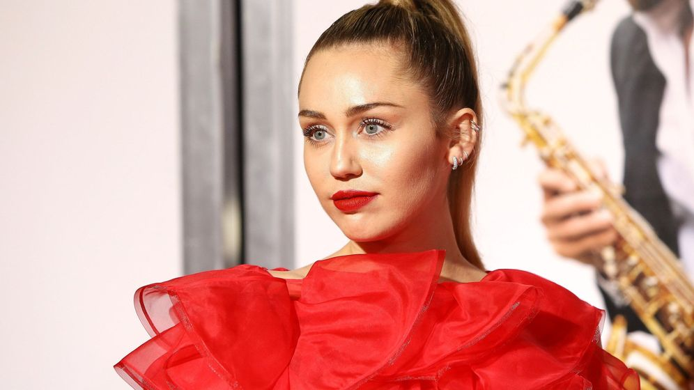 Foto: Miley Cyrus en el estreno de la película 'Isn't It Romantic'. (EFE)