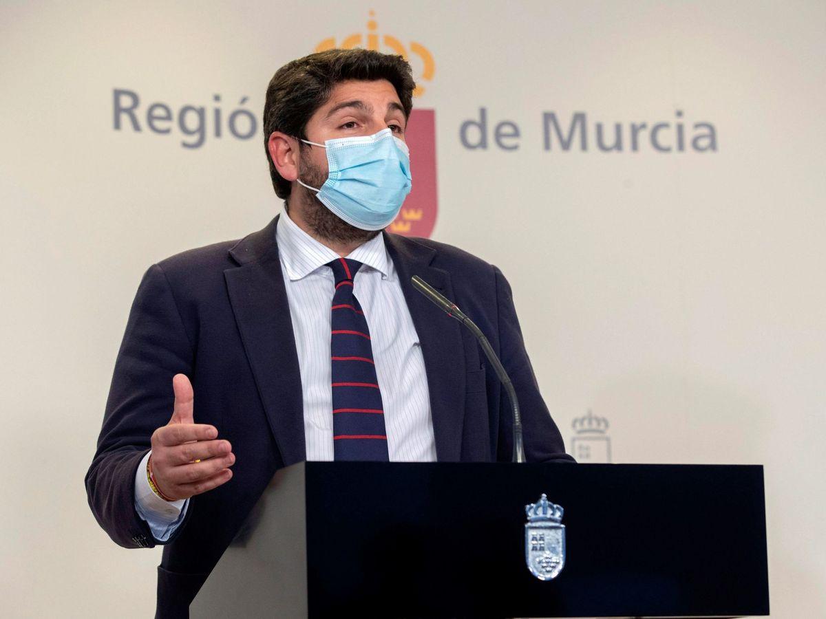 Foto: Rueda de prensa fernando lópez miras