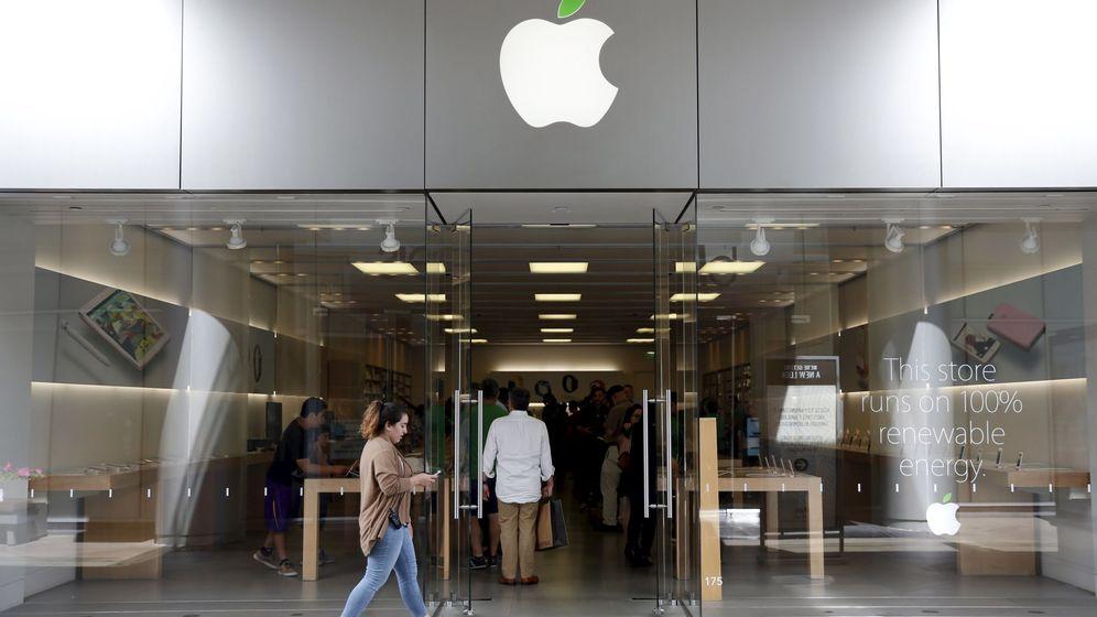 Foto: Tienda de Apple en Los Ángeles. (Reuters)