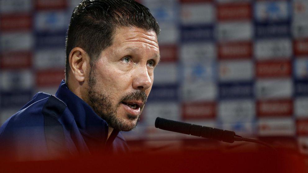 Simeone: Rotar es la única manera de enfrentarse a Madrid y Barcelona