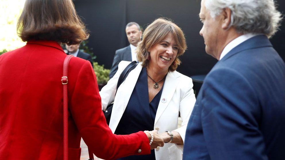 Podemos exige a la ministra Delegado que aclare su reunión con Villarejo
