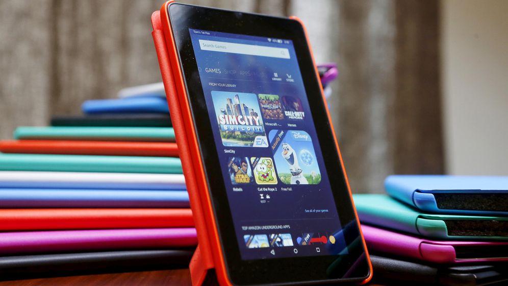 Foto: La nueva tableta 'lowcost' Fire de Amazon. (Reuters)