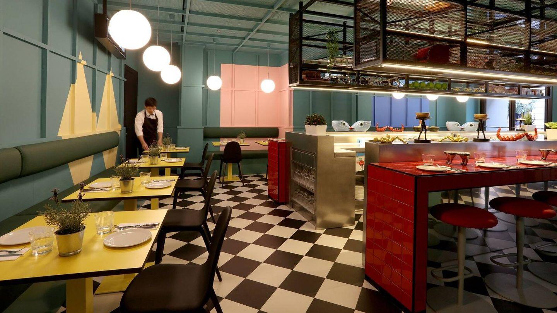 Imagen de la entrada del restaurante