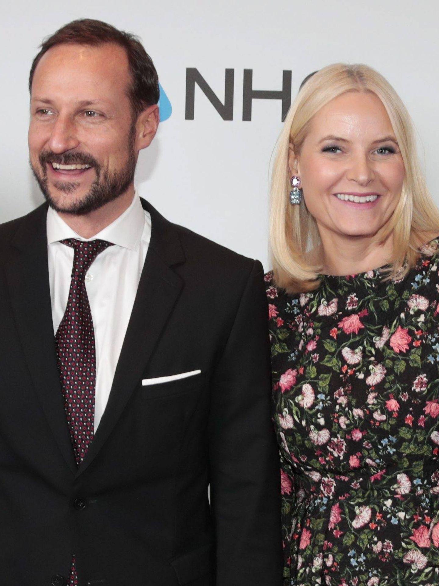 Haakon y Mette-Marit, en una imagen de archivo. (EFE)