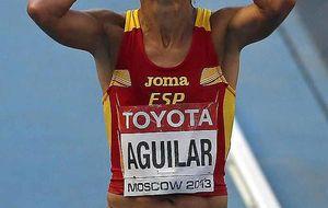 Kiplagat revalida el oro en maratón y Aguilar hace historia