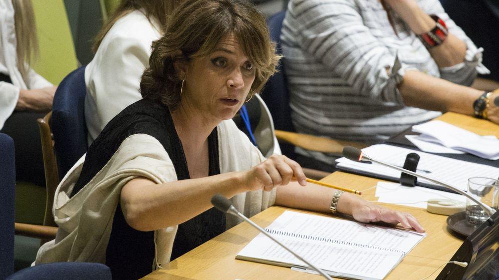 Foto: Delgado, en su intervención en la ONU. (EFE)