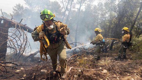 Controlado el incendio declarado el  sábado en la Sierra de la Silla (Murcia)