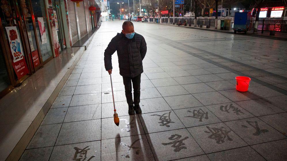 Foto: Un hombre en Jiangxi. (Reuters)