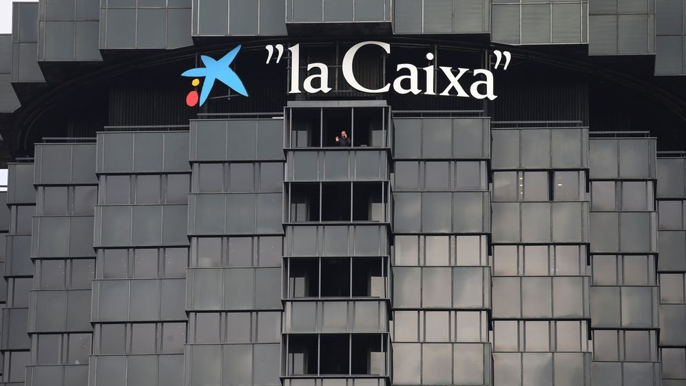 Foto: Logotipo de La Caixa. (Reuters)