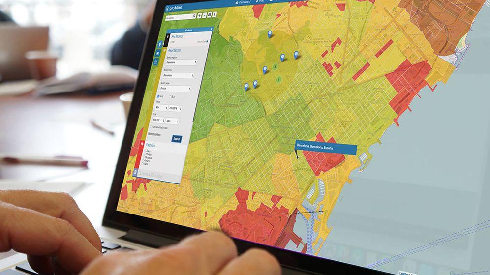 Foto: Geoblink ayuda a determinar si un punto de venta es viable o no. (Lanzadera)