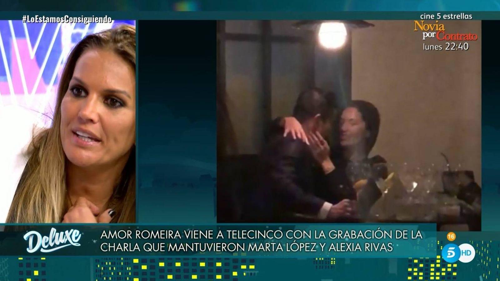 Marta lopez video porno Marta Lopez Descubre En El Deluxe Un Nuevo Video Comprometedor De Alfonso Merlos