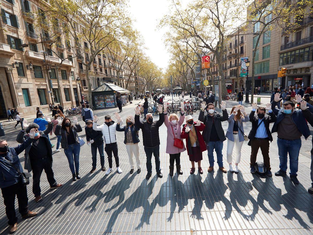 Foto: Acto de homenaje a las víctimas del terrorismo. (EFE)